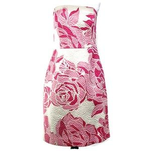 Lilly Pulitzer Allegra La Vie en Rose Dress SZ 14